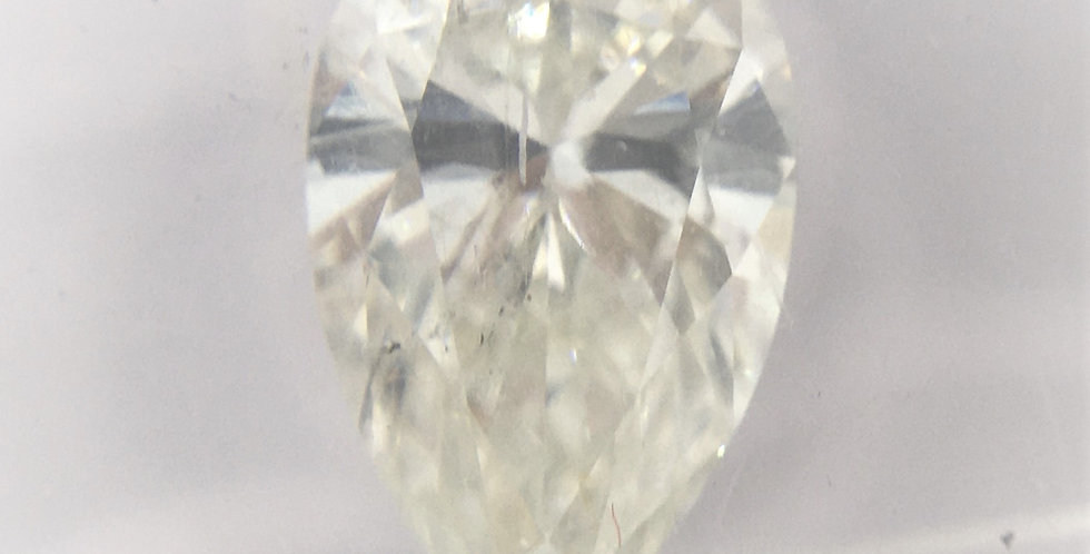 Pear Shape 1.25ct H SI2 certified by IGI