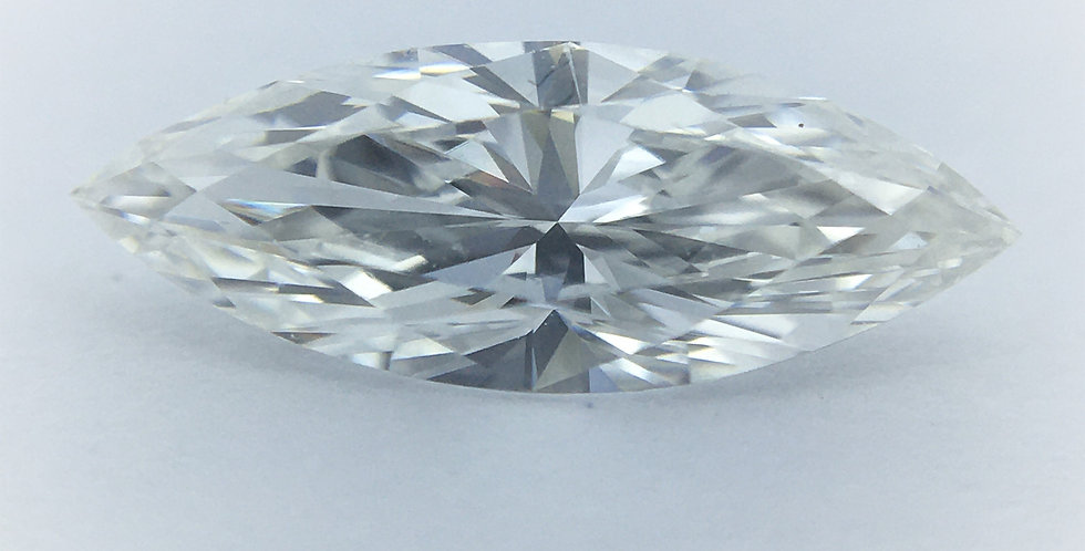Marquise 0.52ct F VVS1 certified by GIA