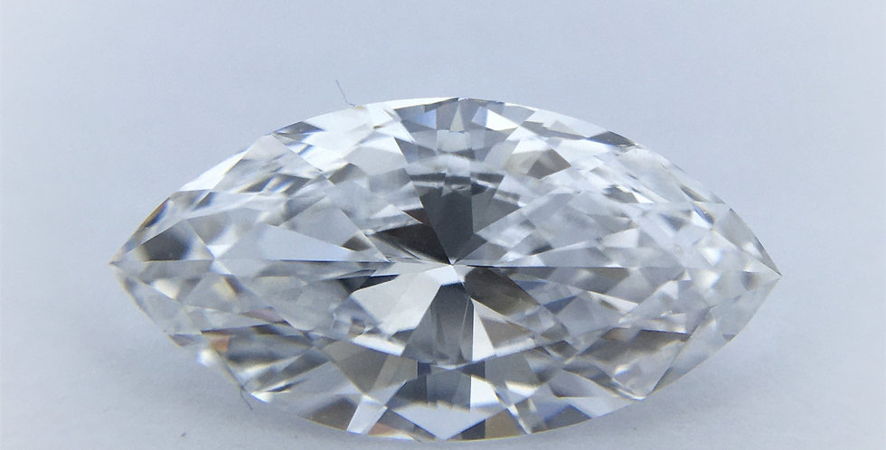Marquise 1ct D IF certified by GIA