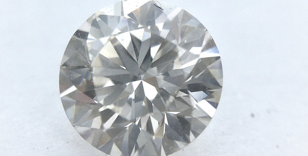 Round Brilliant 0.57ct J VVS1 certified by GIA