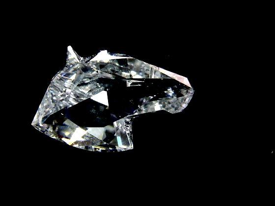 Diamante Natural Cabeça De Cavalo cor D pureza VS1 de 0.67ct