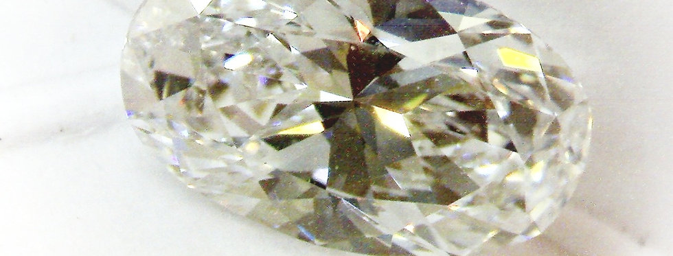 Oval 1.02ct D IF certified by GIA