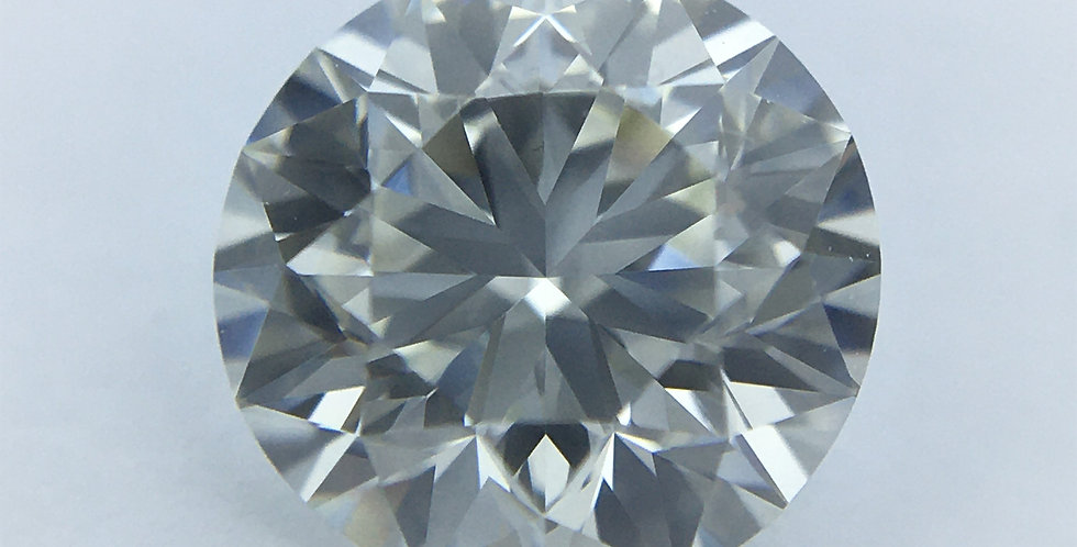 Round Brilliant 1ct J IF certified by HRD