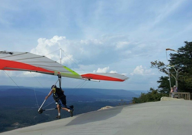 Flying a Hangglider