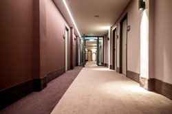 Neugestaltung Hotelflur