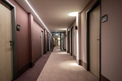 Umbau und Neugestaltung Hotelflur
