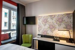 Farb- und Materialkonzept Hotelzimmer
