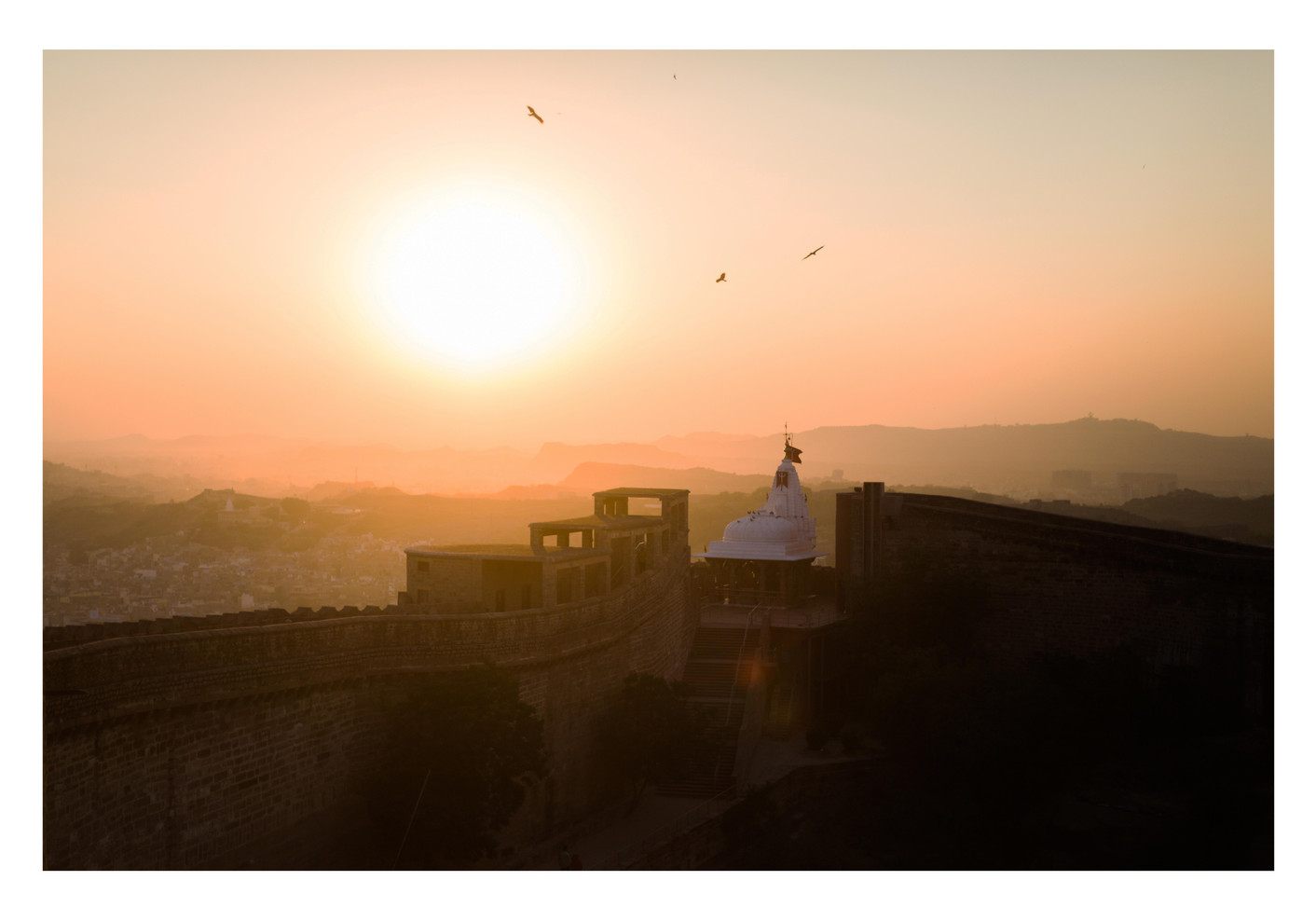 Sunset Fort