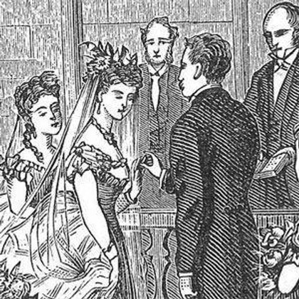 Victoriana: Weddings and Marriages