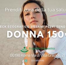 Check Donna 3 esami 150€