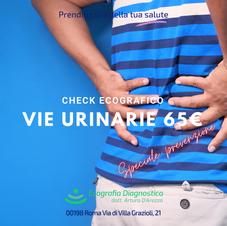 Vie urinarie Renale Vescicale 65€