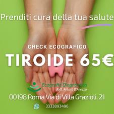 Tiroide e linfonodi del collo 65€