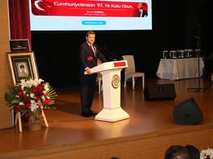 Musa Yıldız'dan Enver Demirel'e: Türk dünyasıyla ilgili bizim hafızamızı sürekli olarak tazeleyen...