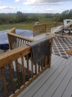 deck paint job
