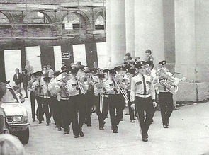 Da Buttera marching off - 1984