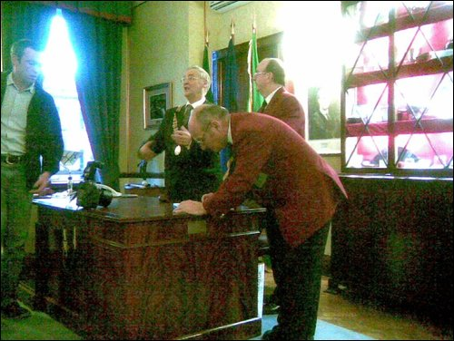 Civic Reception at City Hall 2008