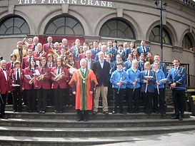 The Massed Bands of The Cork Butter Exchange Band and The Cork Barrack Street Band