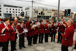 Lord Mayors visit to Shandon Street