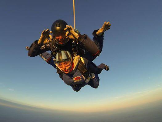 Sophie's skydive