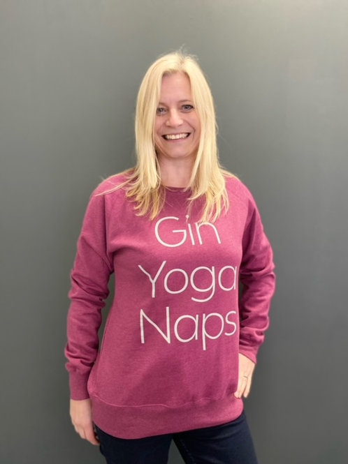 Gin Yoga Naps Sweat