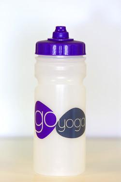Go Yoga Water bottles