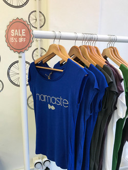 We offer a range of clothes