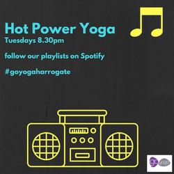 New Hot Power yoga