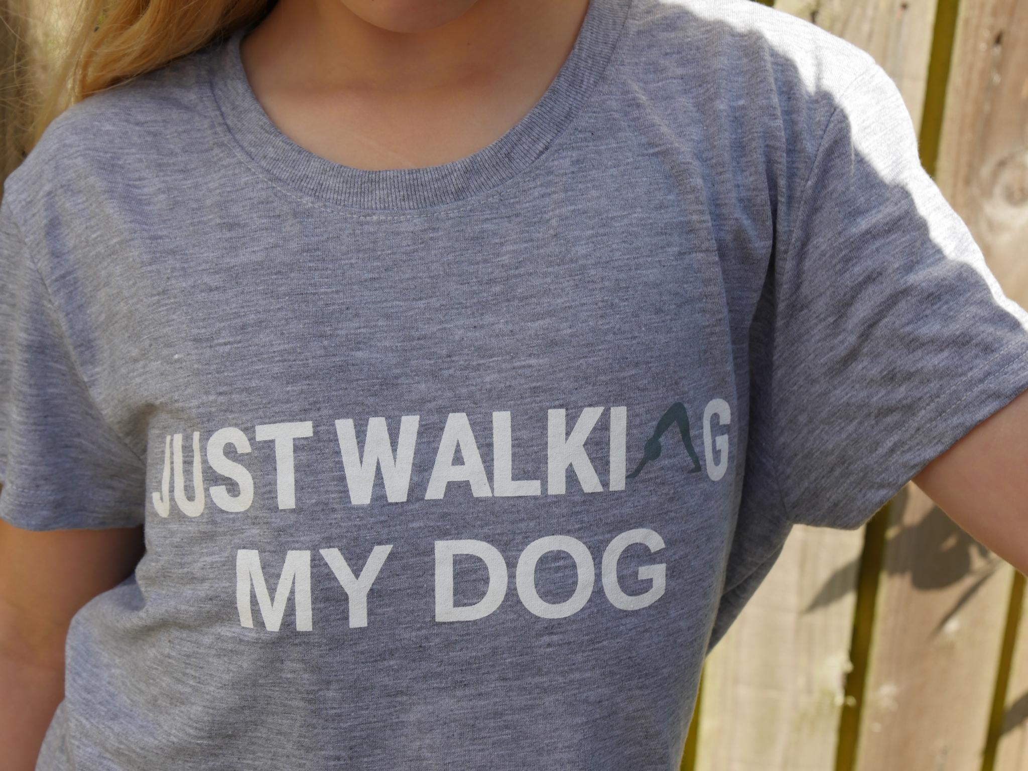 Just Walking my dog