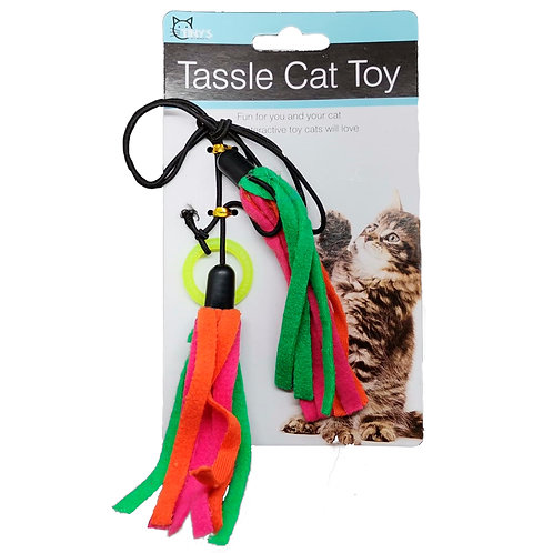 Tassle Cat Toy