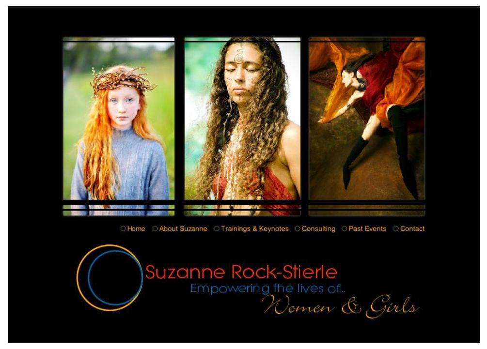 Suzanne Rock Stierle Website