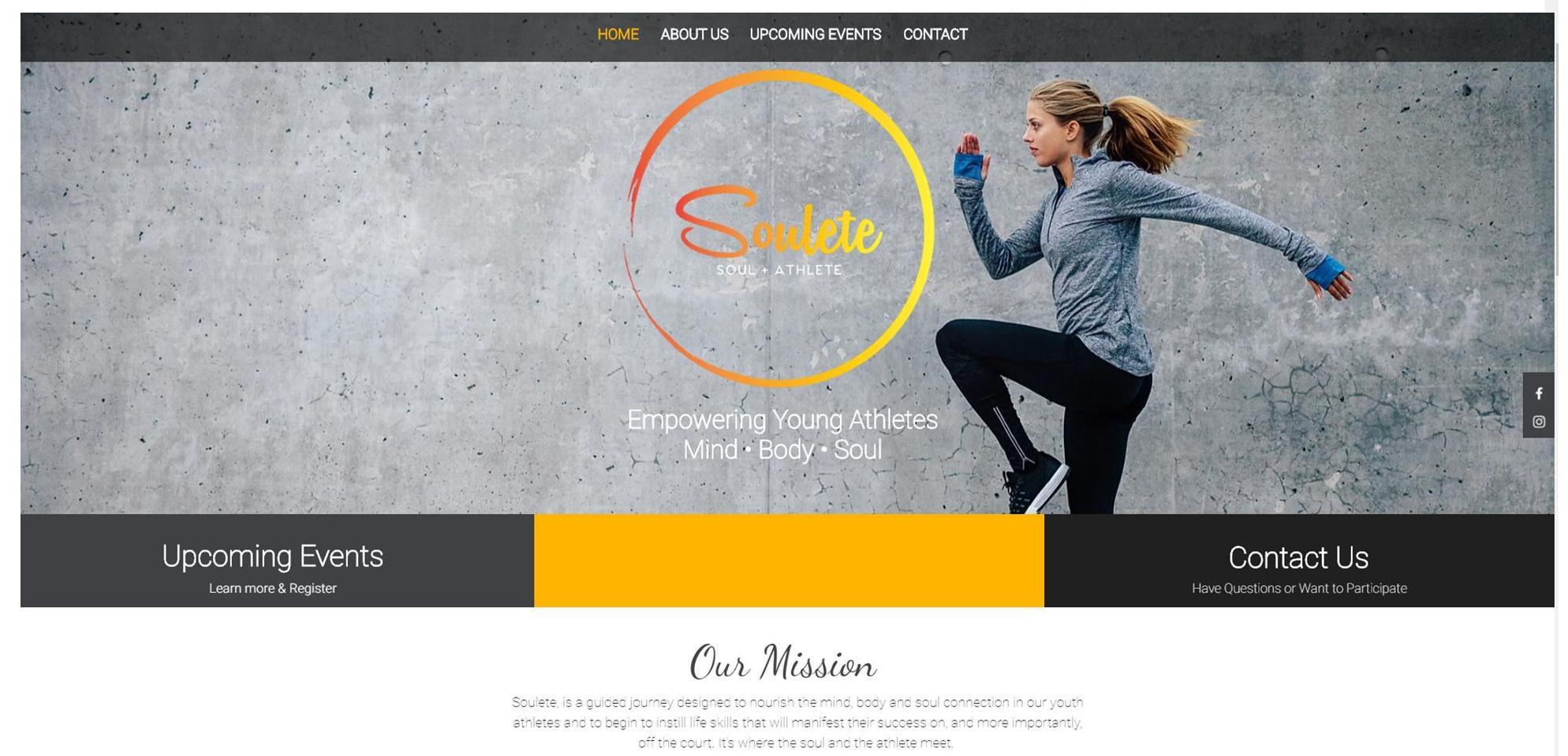 Soulete Website