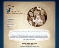 Thrive Birthcenter Website