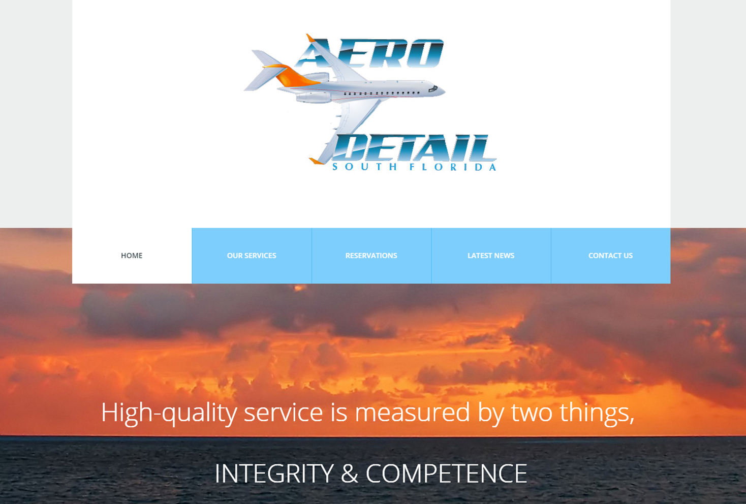 Aero Detail Website