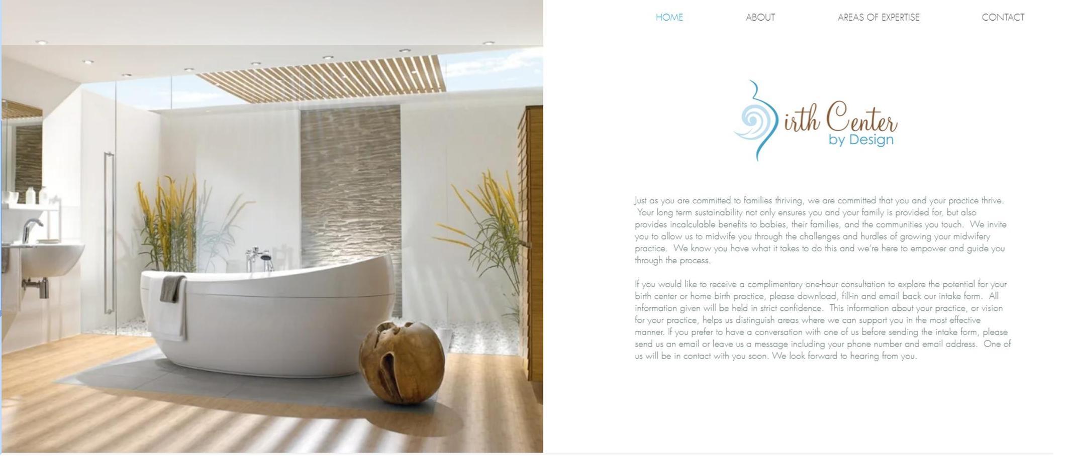 Birth Center by Design Website