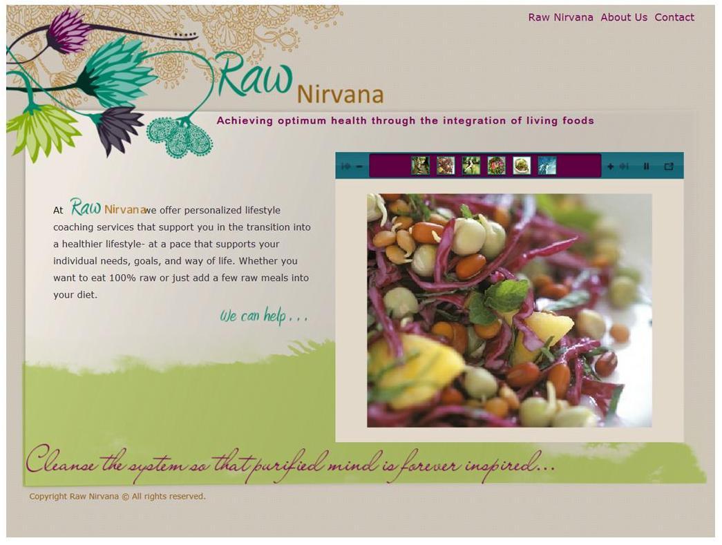 Raw Nirvana Website