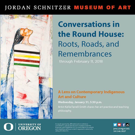 Artist Talk at Jordan Schnitzer Museum of Art