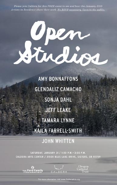 Caldera Artist's In Residence Open Studios 2015