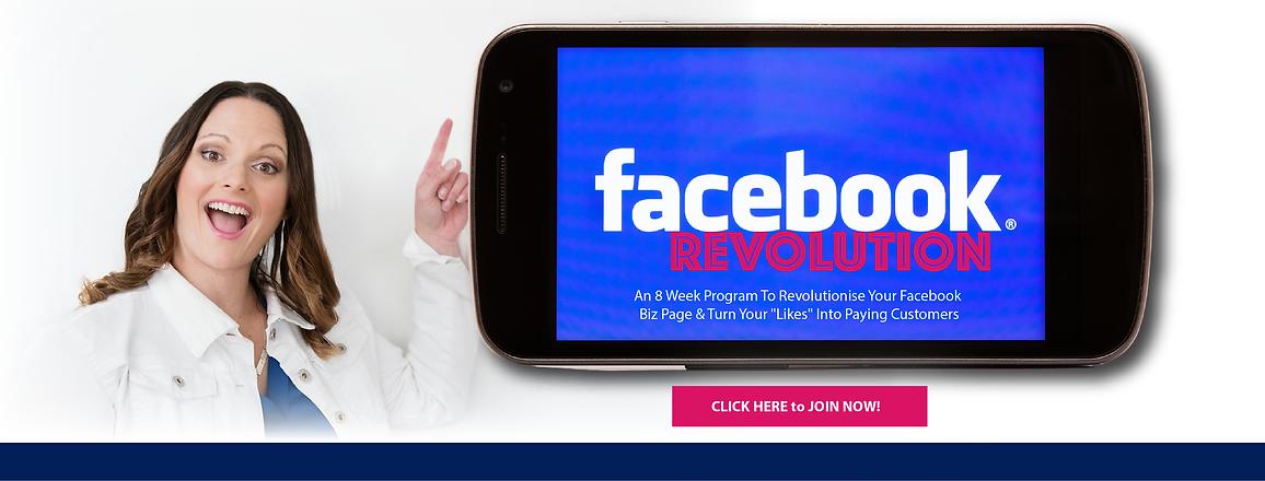 Facebook Revolution   Louise Stephens
