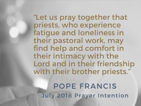 Pope Francis asks us to...