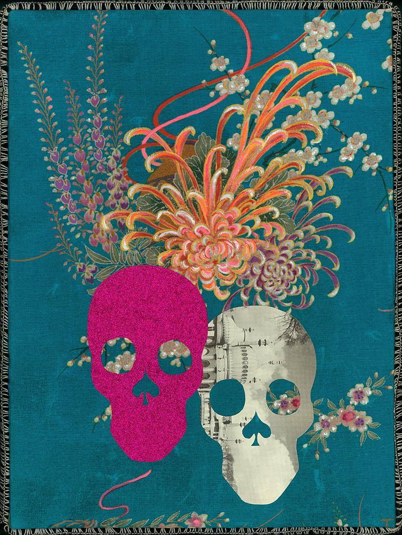 Double Skull Kimono