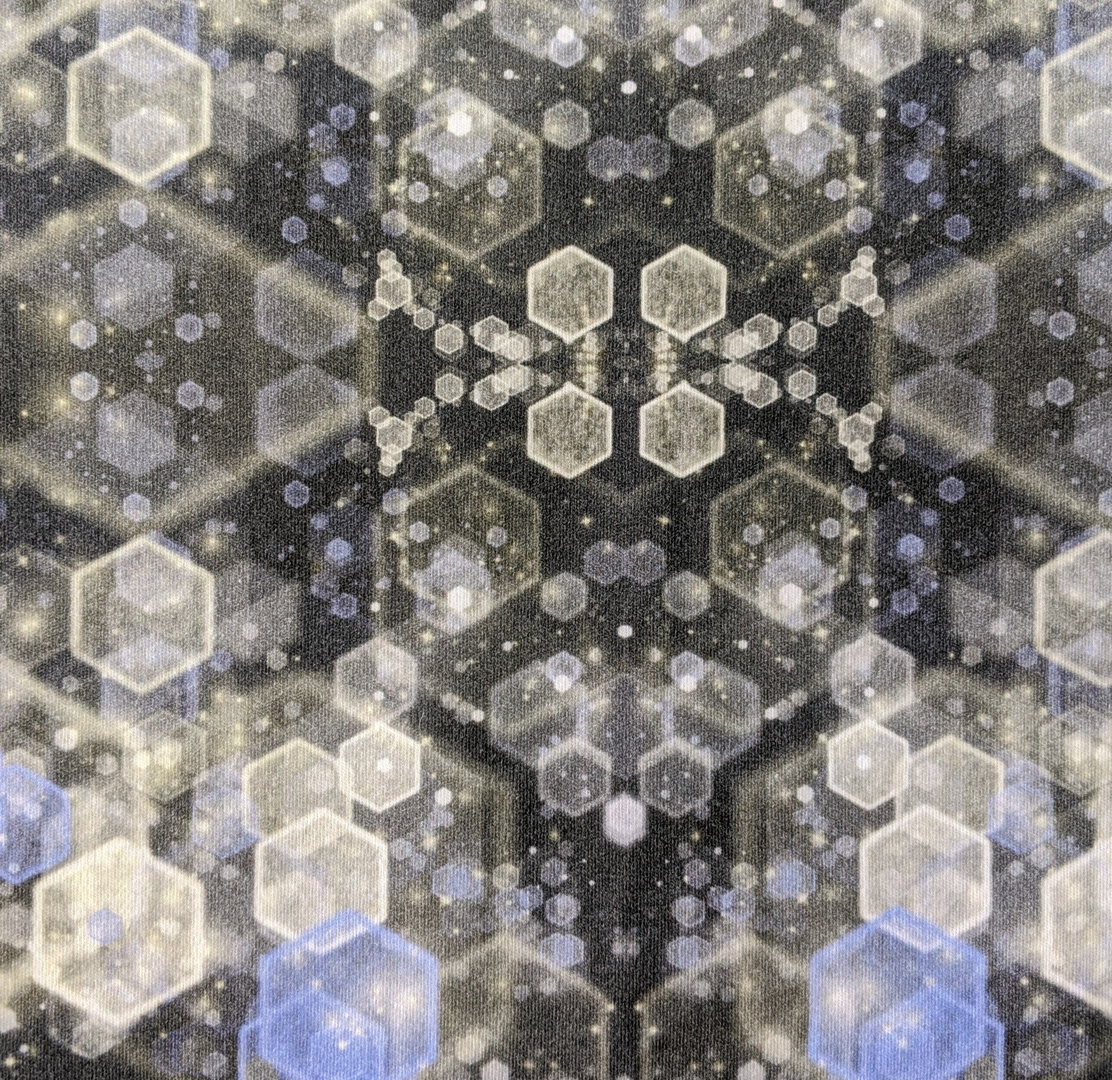 Hexagonal Ice Mirror