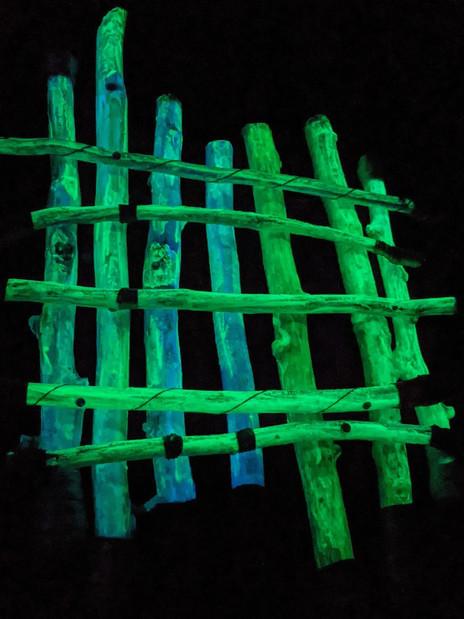 Glow Wand and Stick Raft