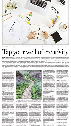 Tap Into Your Well Of Creativity by Alen