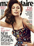 Marie Claire Eva Mendes March Cover - Anti-Aging Time Management by Alene Dawson