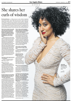 Tracee Ellis Ross for the Los Angeles Times by Alene Dawson