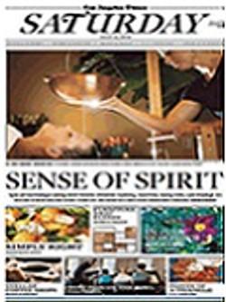 Sense of Spirit for the Los Angeles Times by Alene Dawson - media