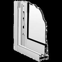 Окна холодного остекления системы Provedal