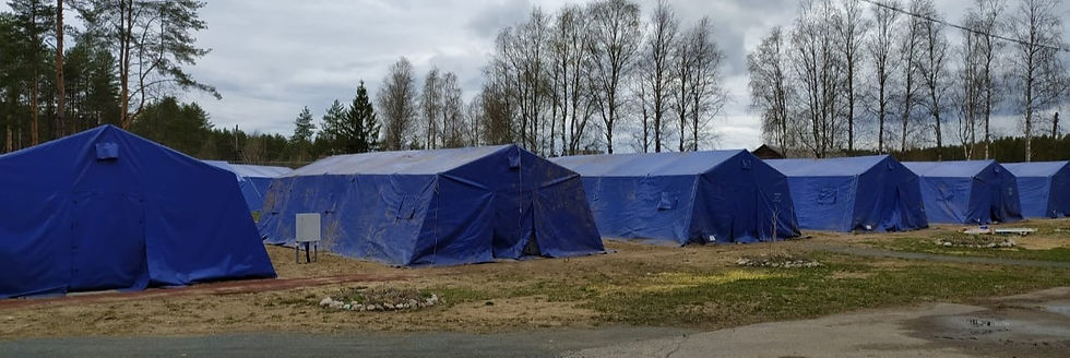 Металлокаркасные палатки