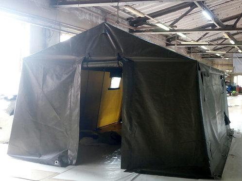 Металлокаркасная палатка ПМК-10