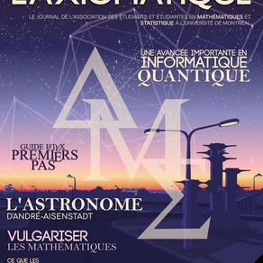 L'Axiomatique - Novembre 2020
